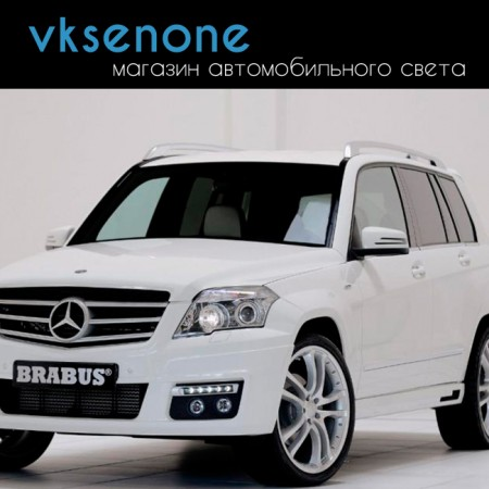 Стекло фары Mercedes-Benz GLK-Class X204 (2012 – 2015) правое