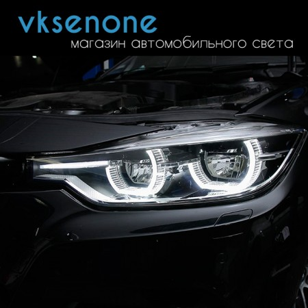 Стекло фары BMW 3,4 Series F30/F31 sedan/wagon (2011 – н. в.) левое LED
