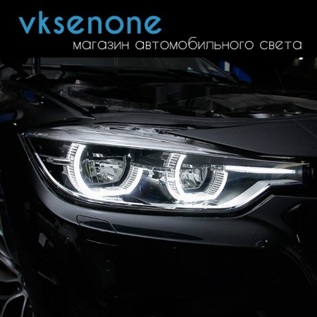 Стекло фары BMW 3,4 Series F30/F31 sedan/wagon (2011 – н. в.) правое LED