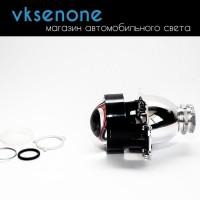 Биксеноновая линза Morimoto mini D2S, Hella 3R design, 3.0 дюйма