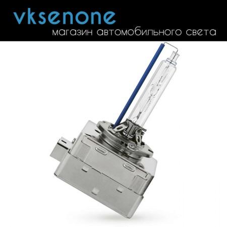 Ксеноновая штатная лампа D1S Philips WhiteVision 5000K, +120% (gen2), 85415WHV2